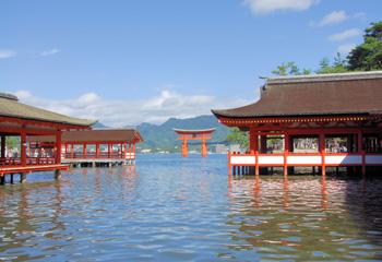 嚴島神社東回廊桝型